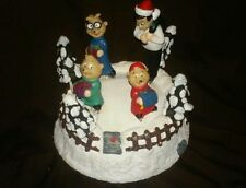 RARE Gemmy Alvin and the Chipmunks Christmas Musical Display Decoration