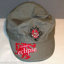 The Twilight Saga ECLIPSE Green Khaki Cotton Ball Cap Cadet Hat •