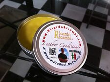 Ricardo Ricambi Official Leather Conditioner 8 oz for Leather Upholstery