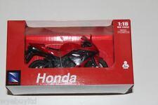 Newray Honda Cbr 600rr Rojo Oxford Diecast Modelo De La Motocicleta Moto Escala 1:18