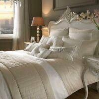 Yarona Oyster Bedlinen by Kylie Minogue At Home ... Free Delivery+Quick Despatch