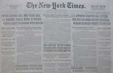 7-1932 July 22 DICTATOR TO REMOVE PRUSSIAN SOCIALISTS - TRADE DEAL UK CANADA