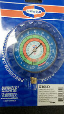 Gauge, Refrigeration, R22, R134A, R404a -30 to 300, BLUE, LOW SIDE, 2.5""