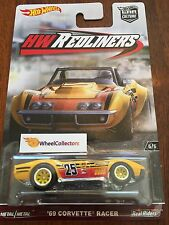 '69 Corvette Racer * REDLINERS Car Culture Case G * 2016 Hot Wheels * In Stock