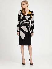 -72% Robe Richley Diane von Furstenberg taille P / 0 - 2 / 34 - 36 xs wool dress