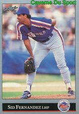 519   SID FERNANDEZ    NEW YORK METS BASEBALL CARD LEAF 1992