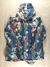 Engineered Garments Floral Packable Hooded Jacket | L | MADE IN USA $350 Retail