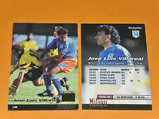 J. L. VILLAREAL SC MONTPELLIER PAILLADE MOSSON FOOTBALL CARD PANINI 1996-1997