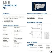 New Norsat 5250, C Band PLL LNB