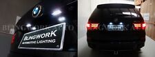 Bright Xenon 6000k White SMD LED Number plate Rego Light for BMW X5 E70 X6 E71