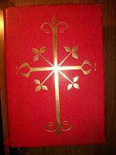 Nice altar size Roman Missal - Missale Romanum, 1964, Has English and Latin