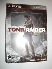 "BRAND NEW Tomb Raider Playstation 3 PS3 ""Steelbook Version"" 2013 game"