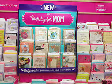 BIRTHDAY 12 CARD ASSORTMN FAMILY MOM DAD GRANDMOM GRANDDAD SON DAUGHTER HALLMARK