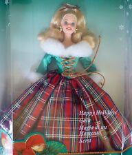 BARBIE 1995 HAPPY HOLIDAYS GALA FROHE WEIHNACHTEN blond #15816  NRFB