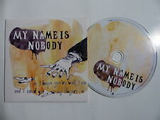 CD Promo 11 titres MY NAME IS NOBODY FRVSENS14