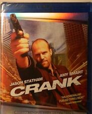 CRANK (2006) Blu-ray Jason Statham Amy Smart Dwight Yoakam Efren Ramirez SEALED