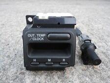 JDM HONDA CRV 97-01 (RD1,RD2) DIGITAL CLOCK & TEMPERATURE SENSOR OEM