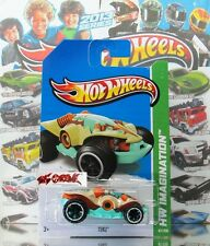 Hot Wheels 2013 #67 Teku™ TAN,3RD COLOR,WHITE RIM,BLACK TIRE,OR6SP,COOL!