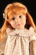 "Rare Mint 23"" Vinyl 2002 LE German Red Hair Gotz Goetz Anna Maria Doll H Gunzel"