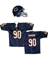 Maillot nfl Foot US américain BEARS N°90 PEPPERS Taille M (US) -  L (fr)