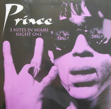 """3 X PRINCE """" 3 NIGHTS IN MIAMI LPS *** ALL COLOURED VINYL *** ALL NEW FULL SET"""
