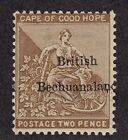Bechuanal. Scott # 7 F-VF mint previously hinged nice color cv $ 43 ! see pic !