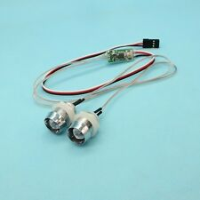 2PCS White 10mm Front Head Light LED Eye for Controlled RC Car Spare Parts model