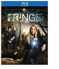 Fringe: The Complete Second Season 2 (4-Disc Blu-ray, 2010) NEW