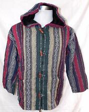 NEW UNISEX FAIR TRADE SIESTA ETHNIC HIPPY FESTIVAL COTTON LINED JACKET COAT M