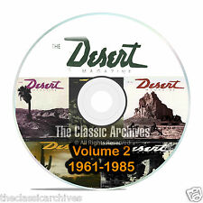 Desert Magazine, 1961-1985, Volume 2, Back Issues, Treasure Hunting CD DVD B58
