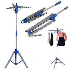 Collapsible Clothes Dryer Folding Tripod Drying Rack Garment Hanger Laundry