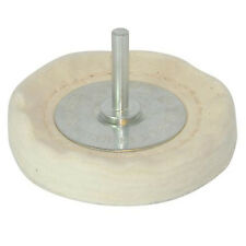 100mm x 15mm-Loose Leaf Buffing/Polishing Wheel - 6mm Shaf -For Power Drills