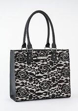 Gg Rose By Rock Rebel Brigitte Boudoir Tattoo Punk Rocker Tote Handbag Purse