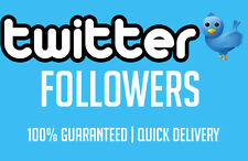 2000 Verified Twitter Follower !! FAST DELIVERY !! HIGH QUALITY !!