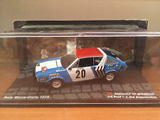"DIE CAST "" RENAULT 17 GORDINI RMC - 1978 J-F.PLOT "" PASSIONE RALLY SCALA 1/43"