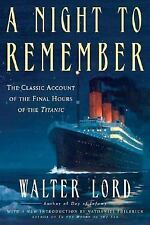 A Night to Remember by Walter Lord (2005, Paperback, Anniversary)