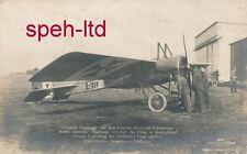 Originale Sanke Karte /  Flugzeug, ..Beuteflugzeug mit deutschem EK versehen