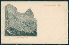 Belluno Selva di Cadore Monte Pelmo cartolina XB5019