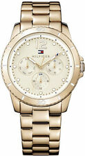 Women's Rose Gold-Tone Tommy Hilfiger Tessa Multi-Function Watch 1781584