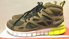 Nike Free Run 2 Sneakerboot Light Umber sneaker boot grey volt new 616744 700