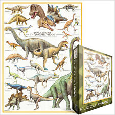 JIGSAW EG60000099 Eurographics Puzzle 1000 Pc - Dinosaurs of the Jurassic Period