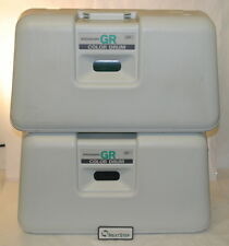 Riso Risograph Wide Teal/ Green GR Color Drums, Lot of 2