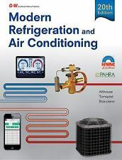 Modern Refrigeration and Air Conditioning by Andrew D. Althouse, Gloria M....