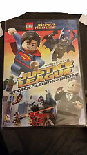 NEW Sealed Lego DC Justice League Attack Of Legion Of Doom DVD In Hand Ready