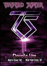 Double Live: Northstage 82 & NY Steel 01 [DVD] by Twisted Sister (DVD,...