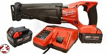 NEW Milwaukee 2720-22 M18 Fuel Brushless Cordless Sawzall Reciprocating Saw Kit