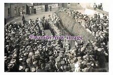 rp13128 - Suffragette - Emmeline Pankhurst at Castle Sq , Tenby 1908- photograph