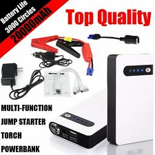 Minimax 20000mAh Portable Car Jump Starter Power Bank Vehicle Battery Charger GH