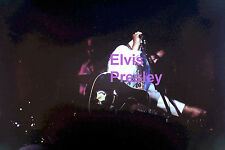 ELVIS PRESLEY IN INDIAN SUIT WITH GUITAR CONCERT TOUR PHOTO CANDID #1