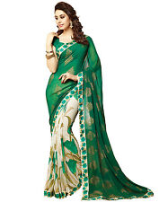 Bollywood Saree Party Wear Indian Ethnic Pakistani Designer Sari Wedding  6419